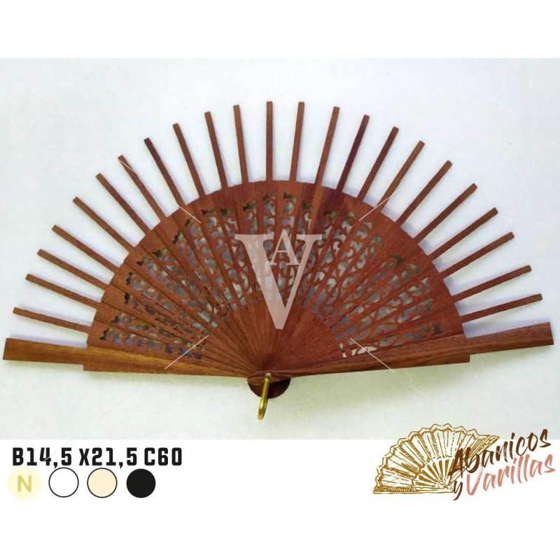 Varillaje para abanicos de 14,5 x 21,5 cm C60