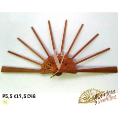 Varilla de peral d 5,5 x17,5 cm para abanicos
