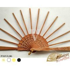 Vareta para leque de pêra trabalhada de 7 X17,21.5 cm G1