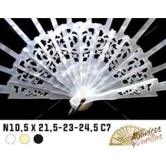 Varillas de Nacarina 10.5 X 21.5 - 23 - 24.5 - 26 cm C7 - Blanca