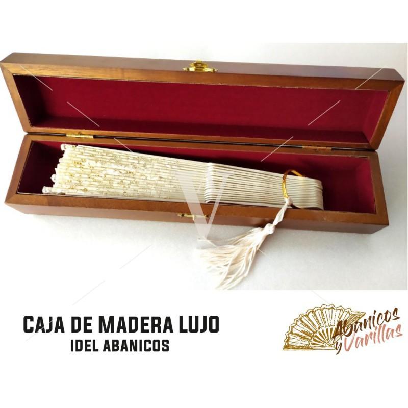 Caja ideal Abanicos de medida max 30,5 cm