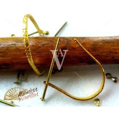 Anilhas para Leques em Dourado e Esculpidas