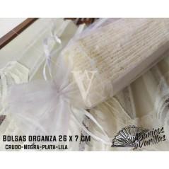 Bolsas de Organza 26 x 7 cm