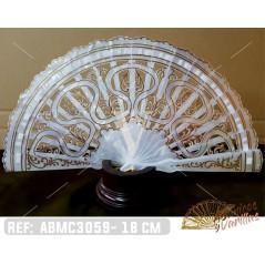 Abanicos Baraja 18 cm - Nacarina ®