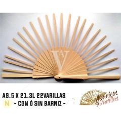 Betulal A9.5 X 21.3 L22 VARETAS SEM VERNIZ