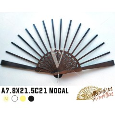 Varetas Leque A7.8 X 21.5 cm C21 Abedul