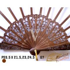 Varilla de palo santo de 9,5 x 21,5 - 23 - 24,5 cm G7