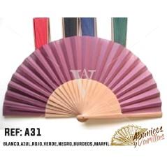 Colores de la tela: Blanco, azul, rojo, verde, negro, burdeos, marfil