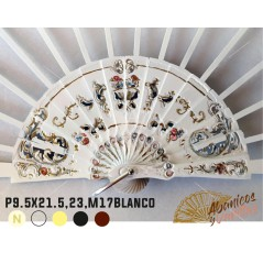 P9.5X21.5,23,M17 Blanco
