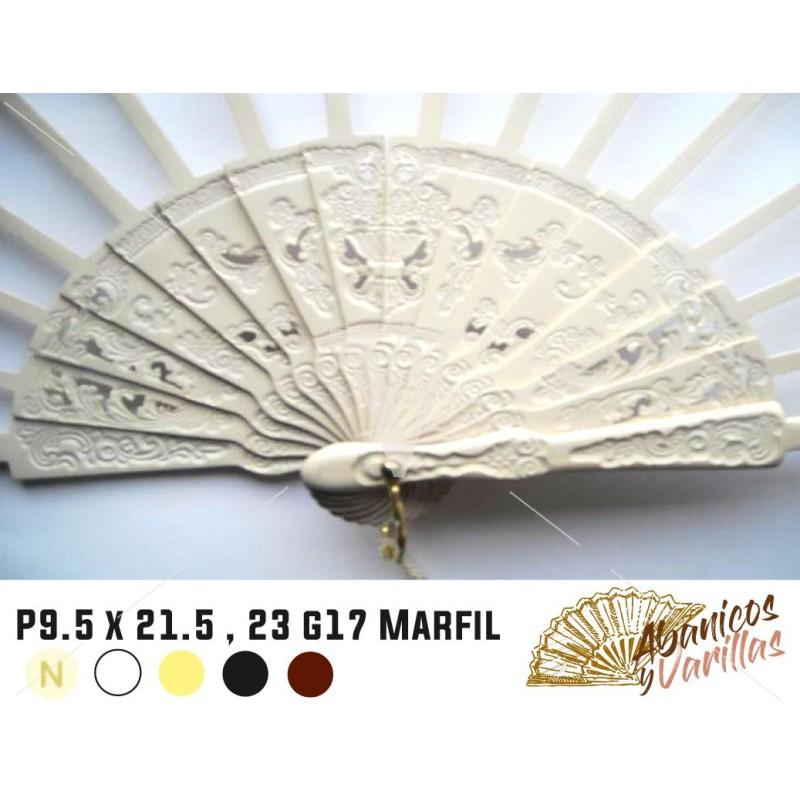 Peral P9.5X21.5,23,G17 Marfil