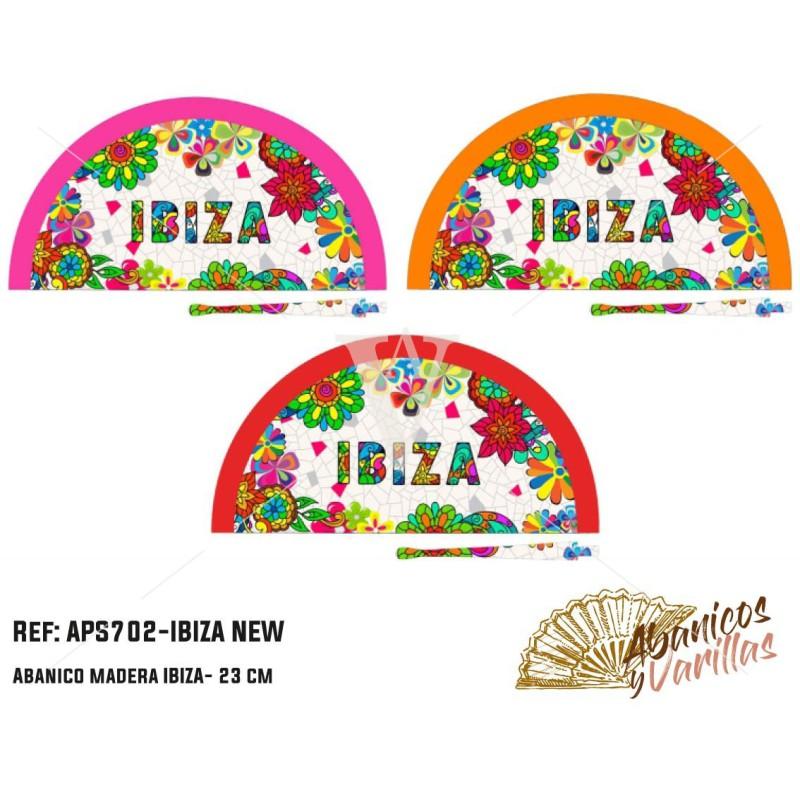 Leques acrilico Ibiza de 23 cm