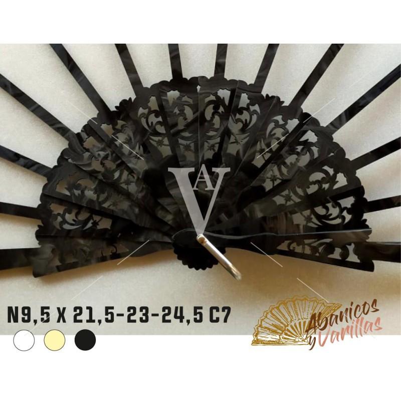 Nacarina N9.5X21.5,23,24.5C7 - Negra
