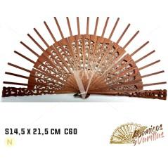 Varetas para Leques de 14,5 cm semicirculo Sipo