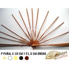 Peral PUÑAL X 18 cm y 21.5 cm ONDAS
