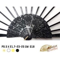 Varillas para abanicos de peral 9.5 x 21,7 - 23 - 25 cm Modelo G18