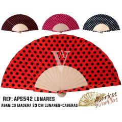 Leques para brindes de casamento ou evento flamenco. Servidos em 4 cores sortidos