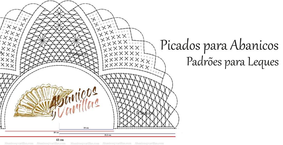 PATRONES / CARTONES / PICADOS PARA ABANICOS